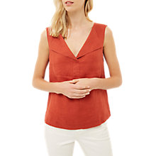 Buy Jaeger Placket Shirt, Red Online at johnlewis.com