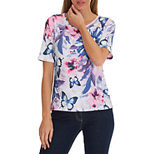 Buy Betty Barclay Blossom Top, Cream/Pink Online at johnlewis.com