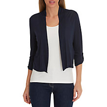 Buy Betty Barclay Short Cardigan, Dark Sky Online at johnlewis.com