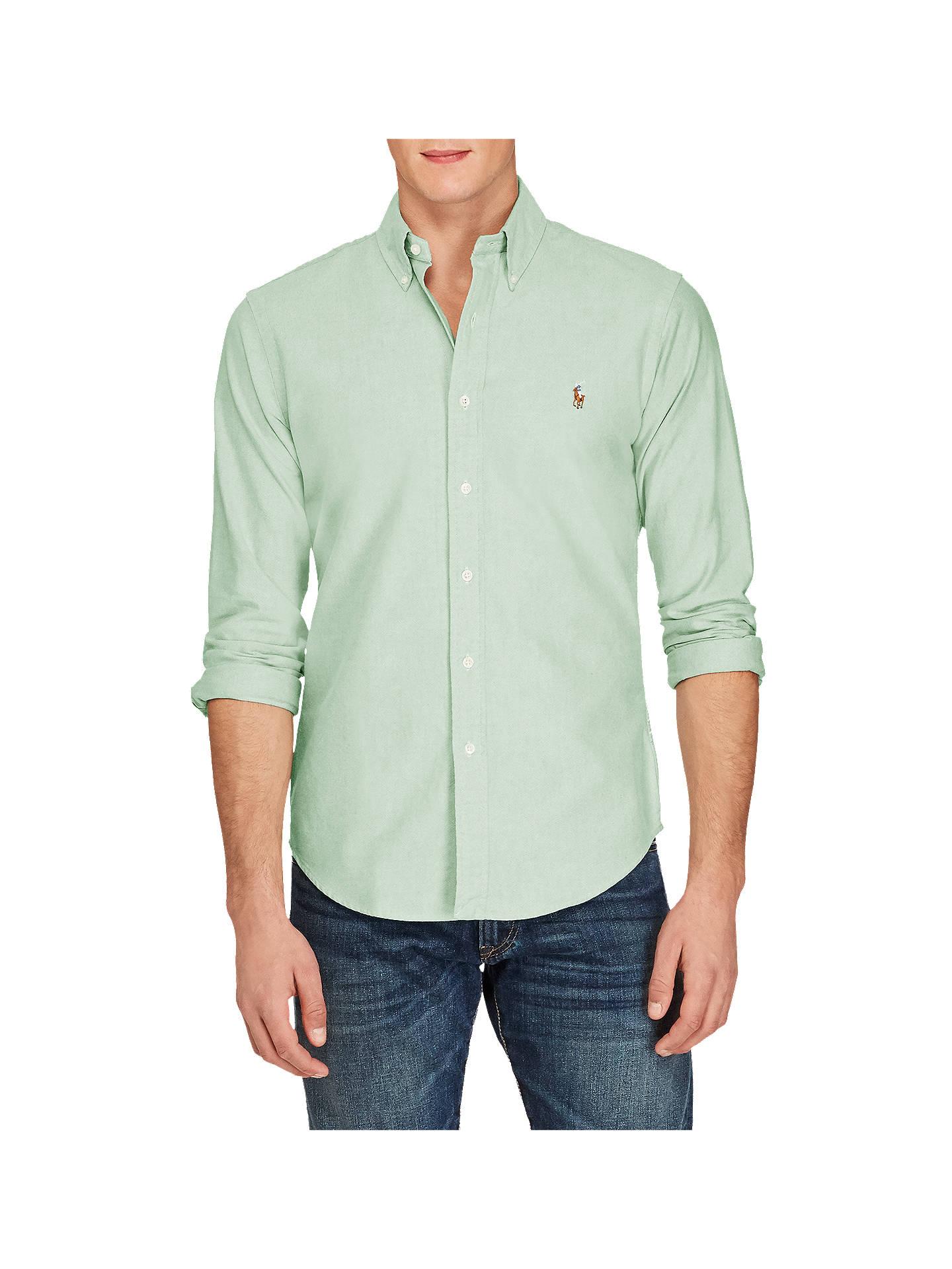 e06b15d9a071 Polo Ralph Lauren Cotton Oxford Shirt at John Lewis   Partners
