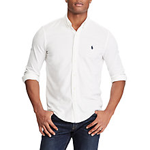 Buy Polo Ralph Lauren Classic Fit Cotton Mesh Shirt Online at johnlewis.com