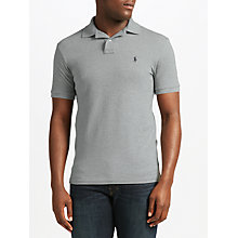 Buy Polo Ralph Lauren Short Sleeve Polo Shirt, Andover Heather Online at johnlewis.com