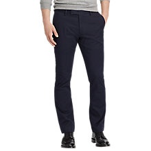 Buy Polo Ralph Lauren Flat Pant Trousers, Aviator Navy Online at johnlewis.com
