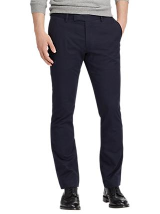 Polo Ralph Lauren Flat Pant Trousers, Aviator Navy