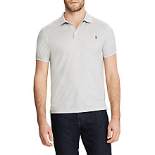 Buy Polo Ralph Lauren Short Sleeve Polo Shirt, Multi/White Online at johnlewis.com