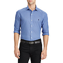 Buy Polo Ralph Lauren Long Sleeve Sport Shirt, Jewel/Blue/Multi Online at johnlewis.com