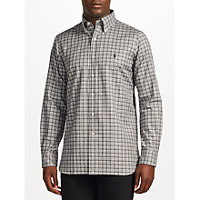 Buy Polo Ralph Lauren Long Sleeve Sports Shirt, Multi/Grey Online at johnlewis.com