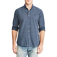 Buy Polo Ralph Lauren Long Sleeve Sports Shirt, Multi/Sea Online at johnlewis.com