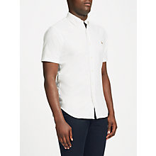 Buy Polo Ralph Lauren Short Sleeve Shirt, White Online at johnlewis.com