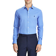 Buy Polo Ralph Lauren Long Sleeve Sports Shirt, La Jolla Blue Online at johnlewis.com