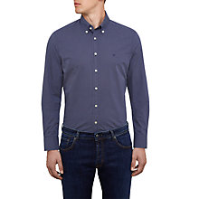 Buy Hackett London Star Print Shirt, Navy Online at johnlewis.com