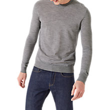 Buy Jigsaw Merino Crew Jumper Online at johnlewis.com