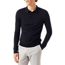 Buy Jigsaw Merino Long Sleeve Polo Shirt Online at johnlewis.com