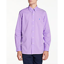 Buy Polo Ralph Lauren Long Sleeve Sports Shirt Online at johnlewis.com
