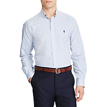 Buy Polo Ralph Lauren Long Sleeve Shirt, Multi/White Online at johnlewis.com