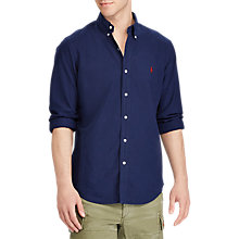 Buy Polo Ralph Lauren Long Sleeve Pin Point Collar Shirt Online at johnlewis.com
