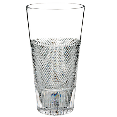 Waterford Diamond Line Crystal Vase