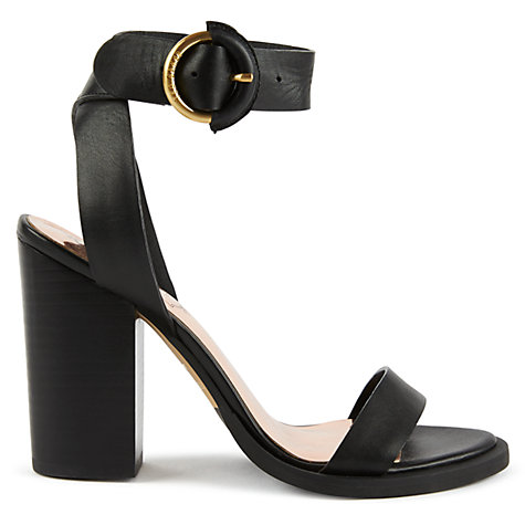 Buy Ted Baker Betciy Block Heeled Sandals Online at johnlewis.com