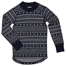 Buy Polarn O. Pyret Children's Long Sleeve Top Online at johnlewis.com