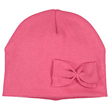 Buy Polarn O. Pyret Baby Bow Hat, Pink Online at johnlewis.com