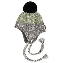 Buy Polarn O. Pyret Baby Cable Knit Hat, Grey Online at johnlewis.com