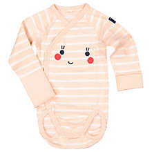Buy Polarn O. Pyret Baby Face Print Bodysuit Online at johnlewis.com