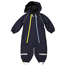 Buy Polarn O. Pyret Baby All-in-one Raincoat, Navy Online at johnlewis.com