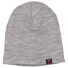 Buy Polarn O. Pyret Baby Merino Hat, Grey Online at johnlewis.com
