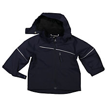 Buy Polarn O. Pyret Baby Shell Coat, Navy Online at johnlewis.com