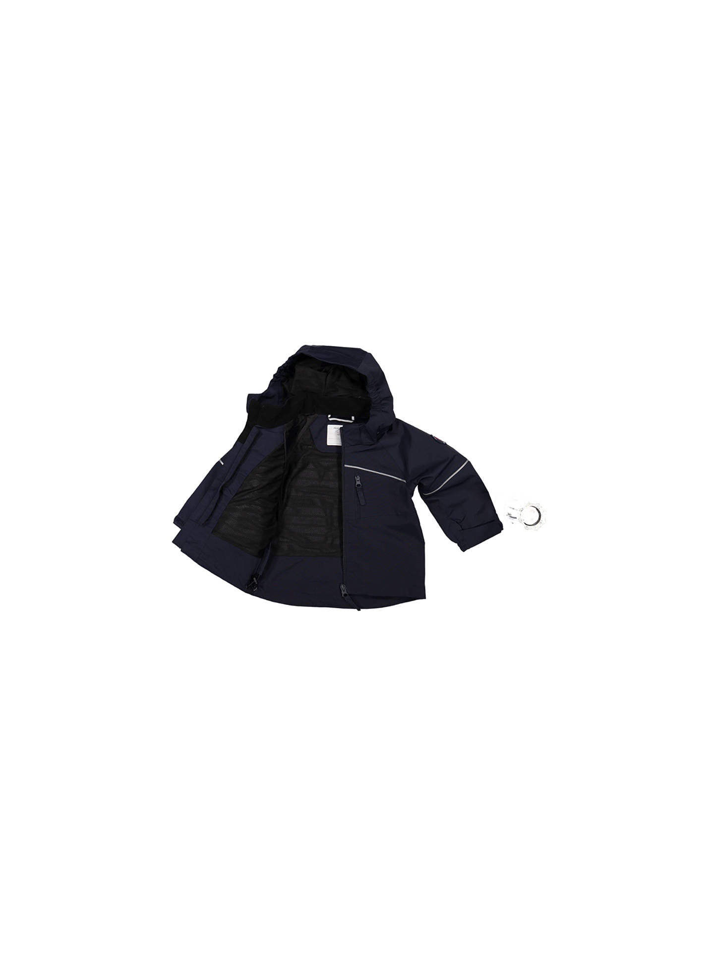 Buy Polarn O. Pyret Baby Shell Coat, Navy, 18-24 months Online at johnlewis.com