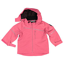 Buy Polarn O. Pyret Baby Shell Coat, Pink Online at johnlewis.com