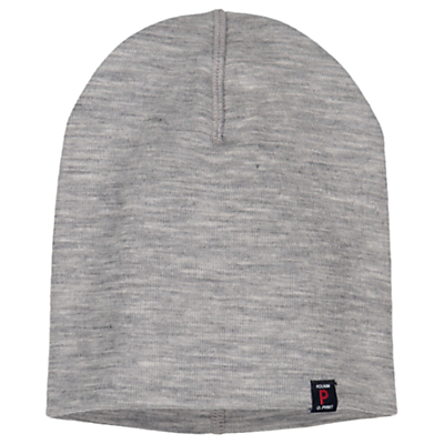 Polarn O. Pyret Children's Merino Hat, Grey