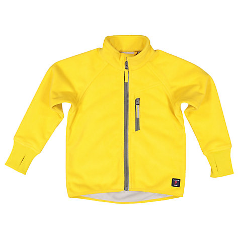 Buy Polarn O. Pyret Children's Fleece Jacket, Yellow | John Lewis