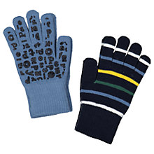 Buy Polarn O. Pyret Children's Magic Gloves, Pack of 2, Blue Online at johnlewis.com