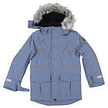 Buy Polarn O. Pyret Children's Parka Coat, Blue Online at johnlewis.com