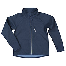 Buy Polarn O. Pyret Children's Soft Shell Jacket, Blue Online at johnlewis.com