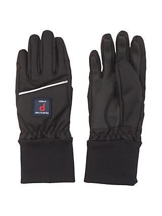 Polarn O. Pyret Children's Shell Gloves, Black