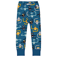 Buy Polarn O. Pyret Children's Robot Leggings, Blue Online at johnlewis.com