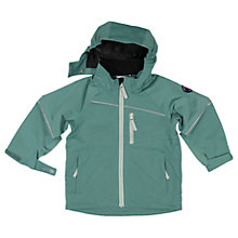 Buy Polarn O. Pyret Children's Shell Coat, Green Online at johnlewis.com
