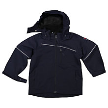 Buy Polarn O. Pyret Children's Shell Coat, Navy Online at johnlewis.com