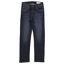 Buy Polarn O. Pyret Children's Regular Fit Denim Jeans, Navy Online at johnlewis.com