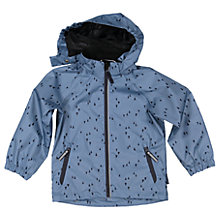 Buy Polarn O. Pyret Children's Shell Coat, Blue Online at johnlewis.com