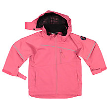 Buy Polarn O. Pyret Children's Shell Coat, Pink Online at johnlewis.com