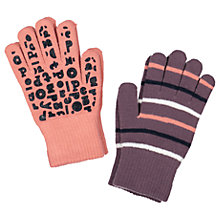 Buy Polarn O. Pyret Children's Magic Gloves, Pack of 2, Purple Online at johnlewis.com