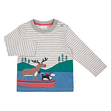 Buy John Lewis Baby Moose Husky Boat Top, Grey Online at johnlewis.com