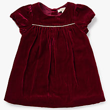 Buy John Lewis Heirloom Collection Baby Velvet Dress, Red Online at johnlewis.com