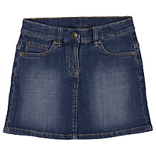 Buy Polarn O. Pyret Girls' Denim Skirt, Blue Online at johnlewis.com
