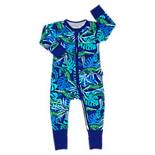 Buy Bonds Baby Ribby Airlie Croc Wondersuit, Blue/Green Online at johnlewis.com
