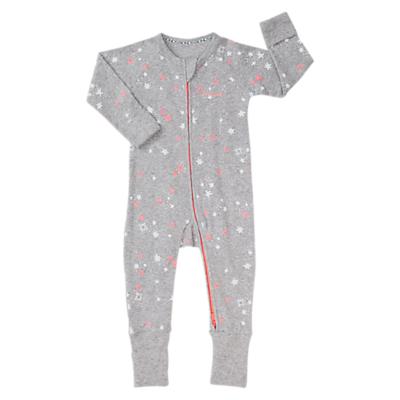 Bonds Baby Newbies Ribby North Star Love Bird Wondersuit, Grey