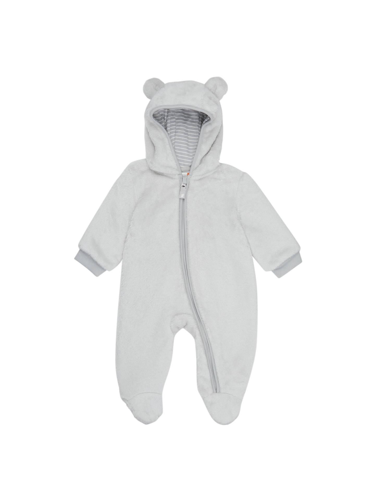 396eb6d24e4f John Lewis Baby Faux Fur Snowsuit